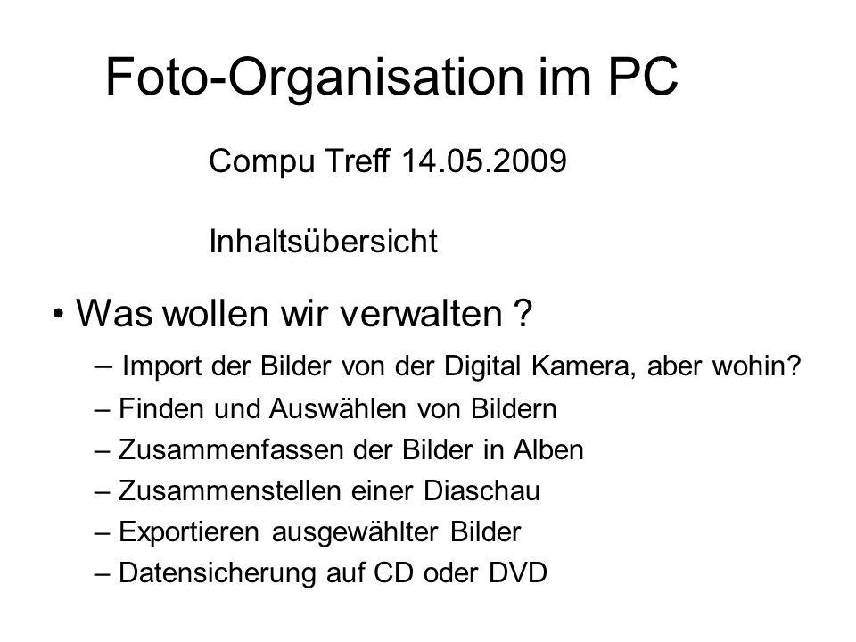 "2. Picasa-Hilfe ""Grundlagen zu Picasa Nächste Folie Übernächste Folie"