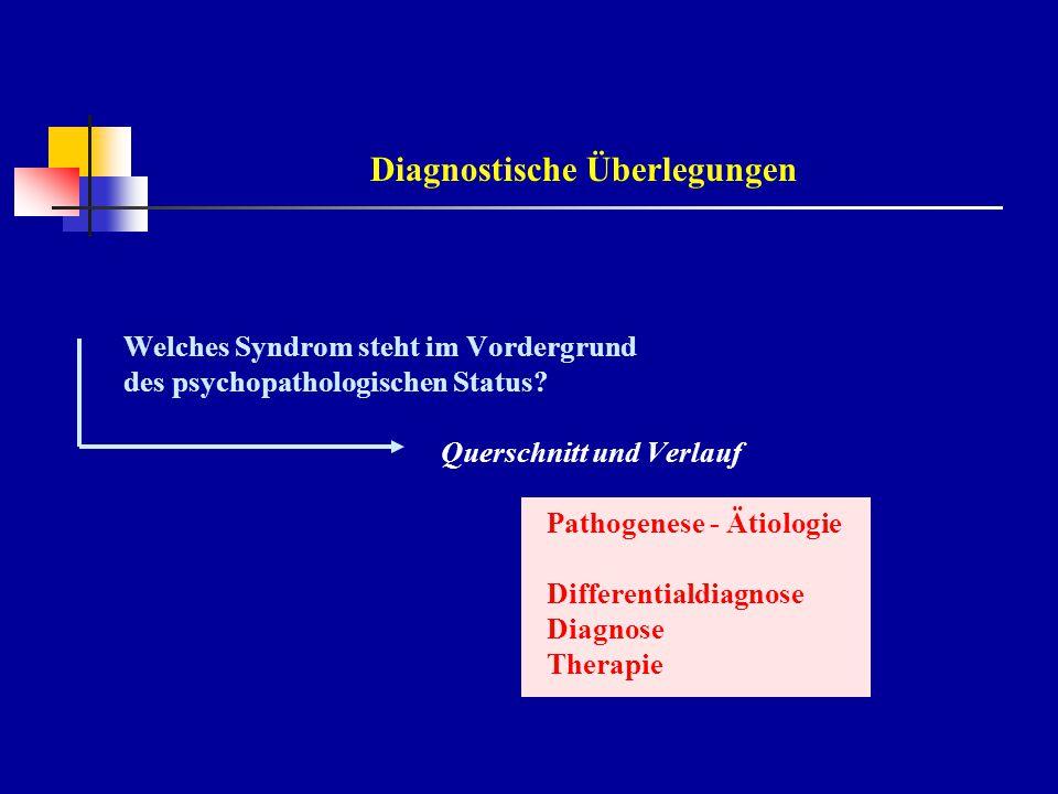 """Syndrom-Begriff Symptome: Zeichen von Erkrankungen Syndrome:Muster typischer Symptomkonstellationen - nosologisch unspezifisch - unterschiedliche Ursachen """"Syndrom """"multifaktorielle Syndromgenese"""