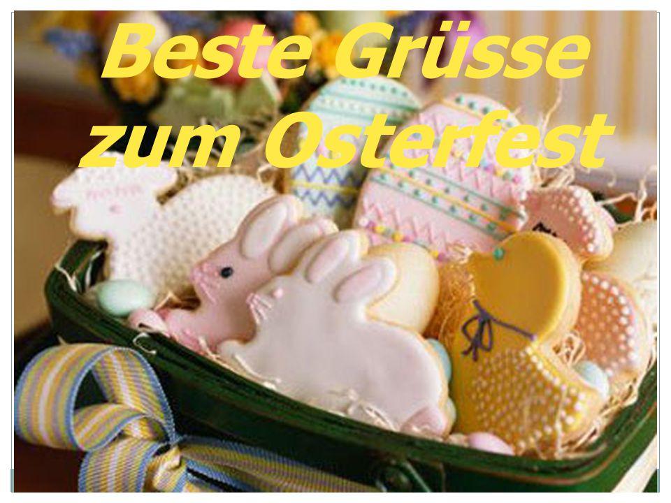 Beste Grüsse zum Osterfest