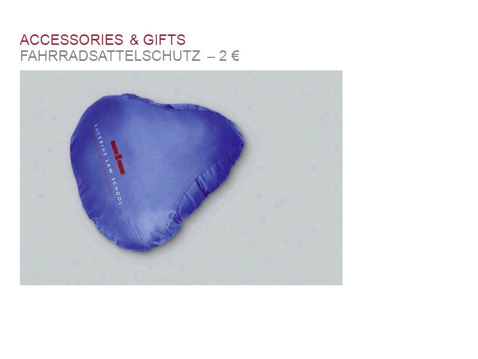 ACCESSORIES & GIFTS FAHRRADSATTELSCHUTZ – 2 €