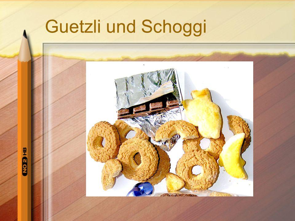 Guetzli und Schoggi