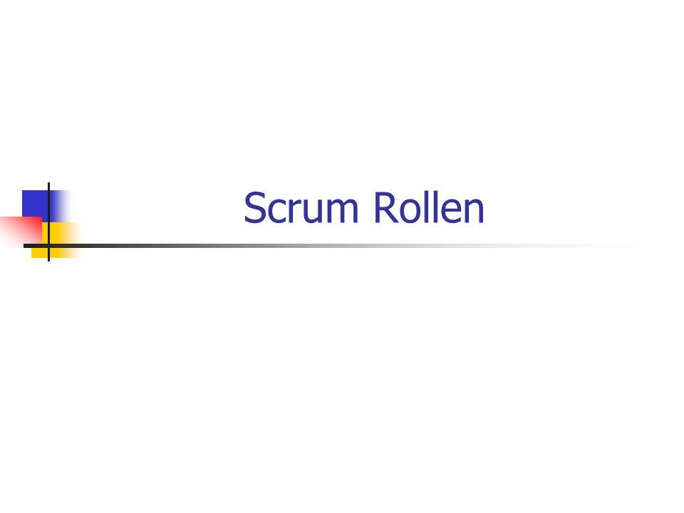 Scrum Rollen