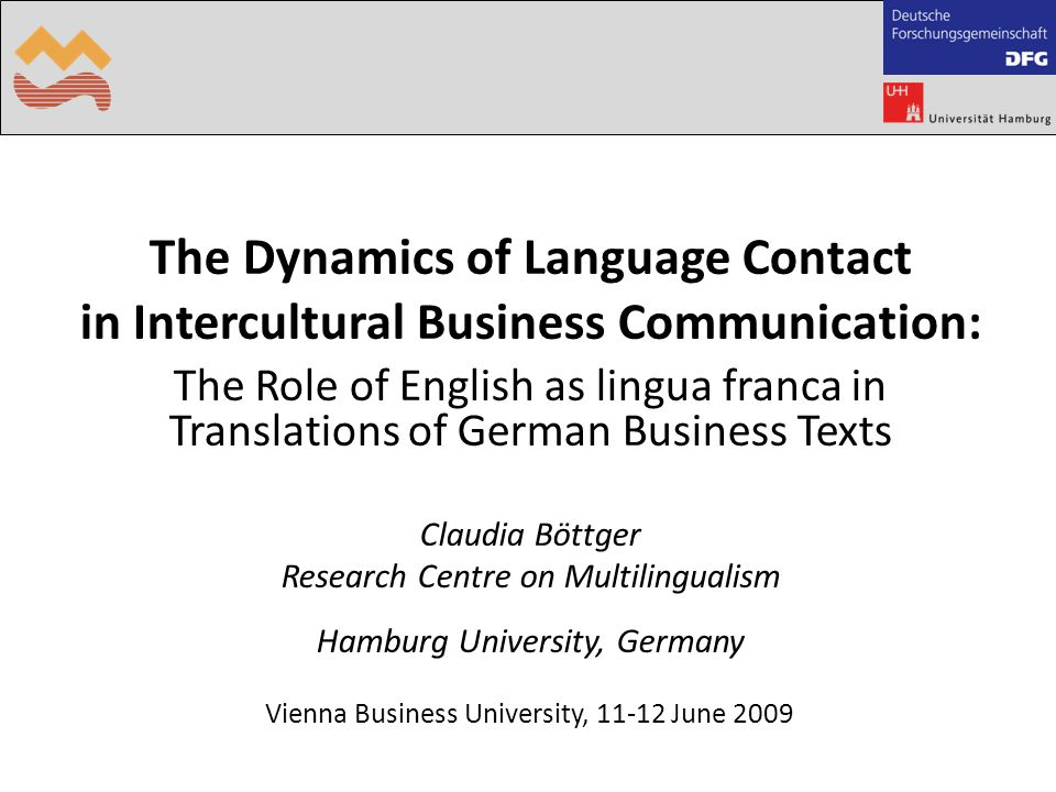 Text Optimising in Multilingual Business Communication Transfer Project