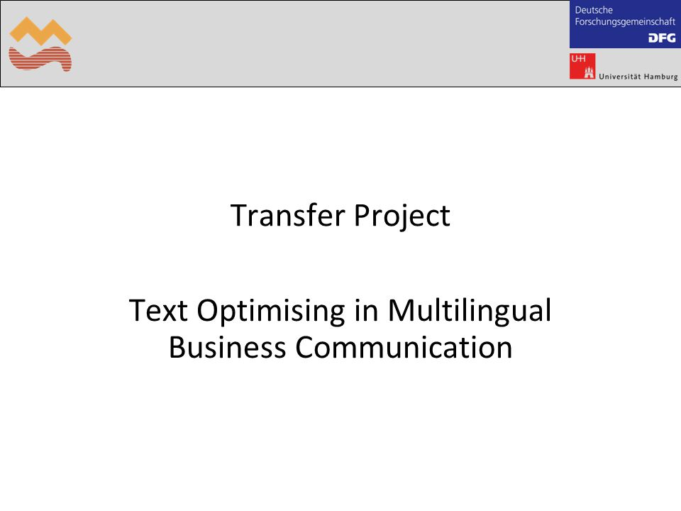 is applied to adapt source texts to target text expectations (House 1997, 2003) builds on the following communicative preferences Cultural filter