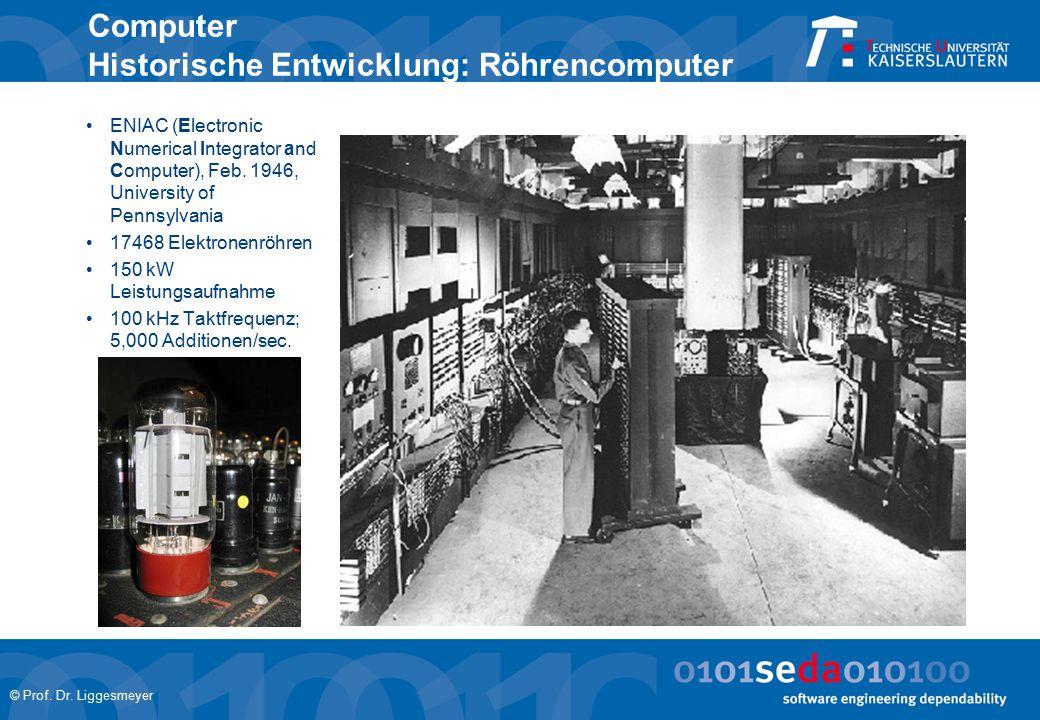 © Prof. Dr. Liggesmeyer Computer im Auto Heute … ESP ASR