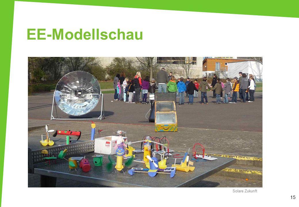 EE-Modellschau 15 Solare Zukunft