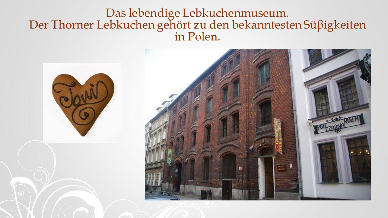 Das lebendige Lebkuchenmuseum.