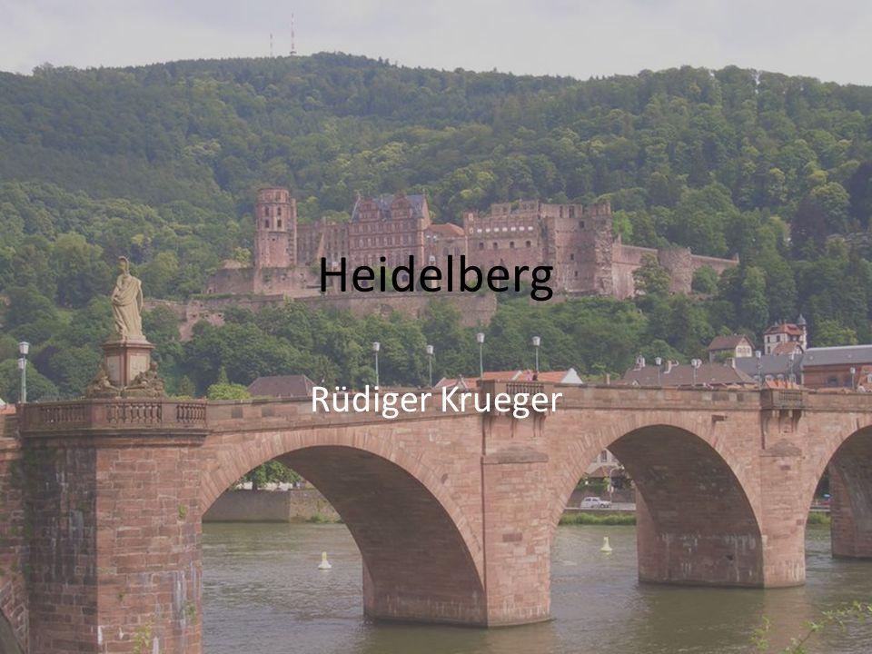 1196 - Erste urkundliche Erwahnung Heidelbergs.