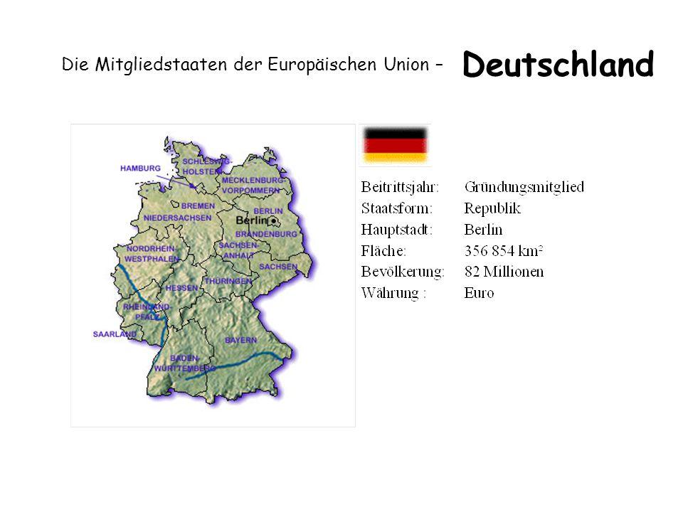 Die Mitgliedstaaten der Europäischen Union – Deutschland