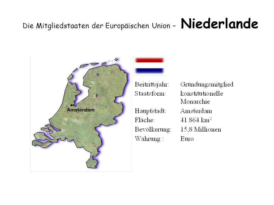 Die Mitgliedstaaten der Europäischen Union – Niederlande