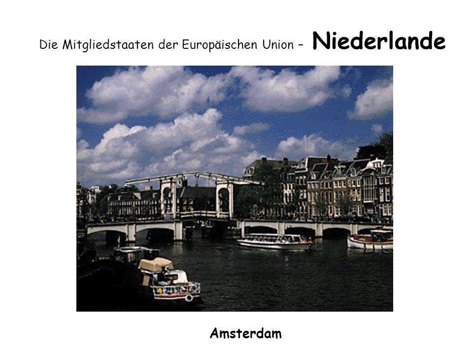 Die Mitgliedstaaten der Europäischen Union – Niederlande Amsterdam