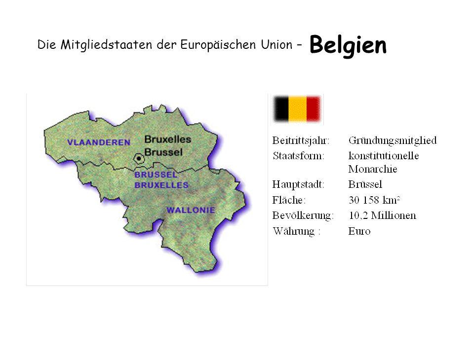 Die Mitgliedstaaten der Europäischen Union – Belgien