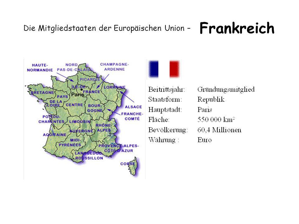 Die Mitgliedstaaten der Europäischen Union – Frankreich