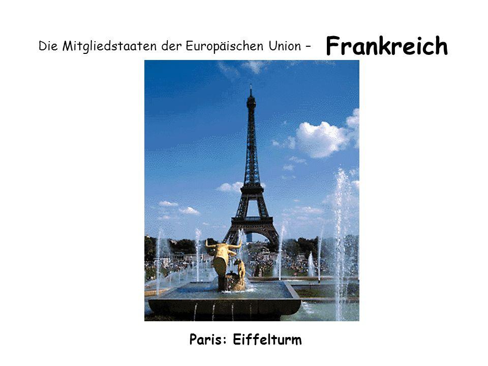 Die Mitgliedstaaten der Europäischen Union – Frankreich Paris: Eiffelturm