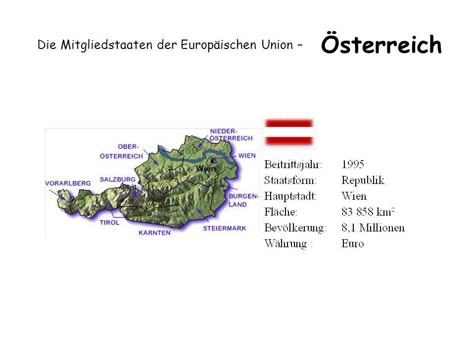 Die Mitgliedstaaten der Europäischen Union – Österreich