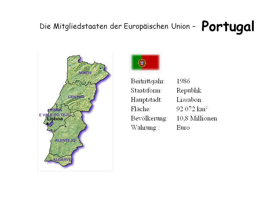 Die Mitgliedstaaten der Europäischen Union – Portugal