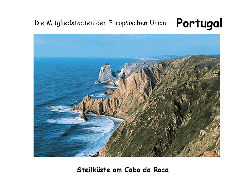 Die Mitgliedstaaten der Europäischen Union – Portugal Steilküste am Cabo da Roca
