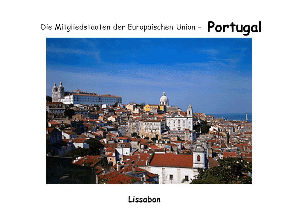 Die Mitgliedstaaten der Europäischen Union – Portugal Lissabon