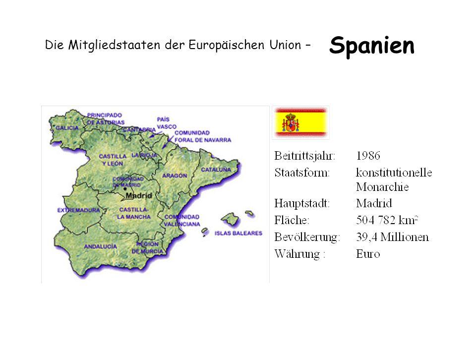 Die Mitgliedstaaten der Europäischen Union – Spanien