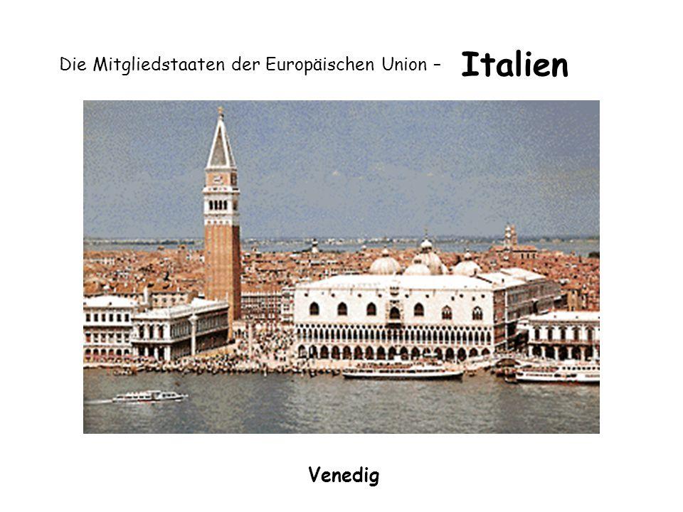 Die Mitgliedstaaten der Europäischen Union – Italien Venedig