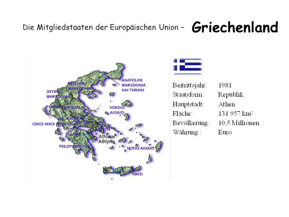 Die Mitgliedstaaten der Europäischen Union – Griechenland