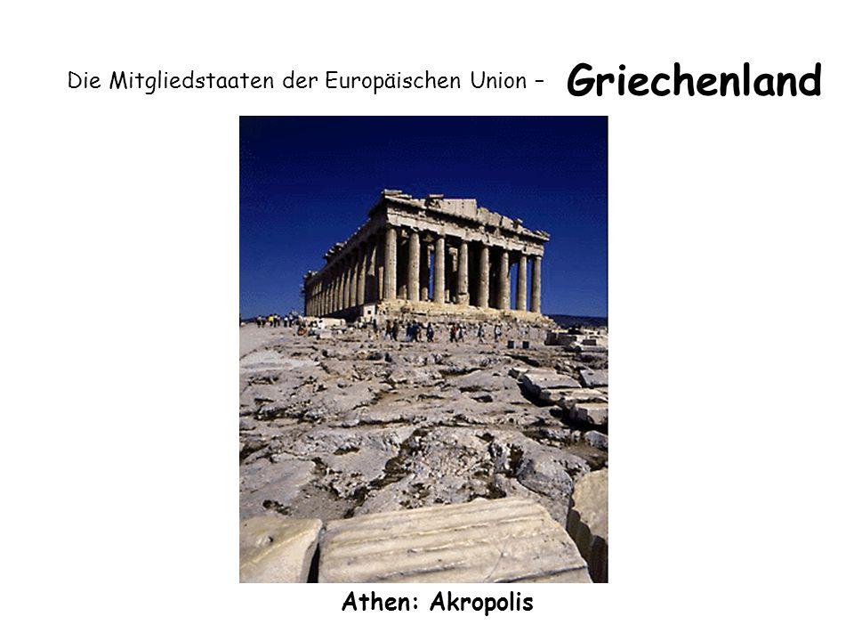 Die Mitgliedstaaten der Europäischen Union – Griechenland Athen: Akropolis