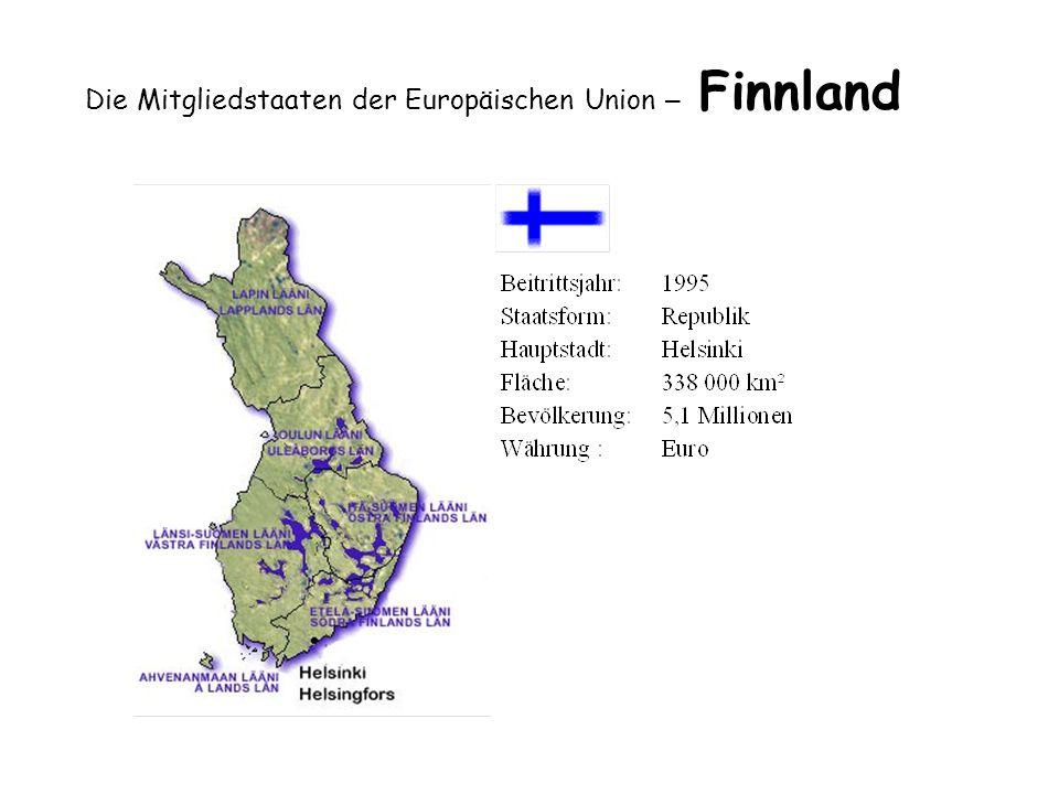 Die Mitgliedstaaten der Europäischen Union – Finnland