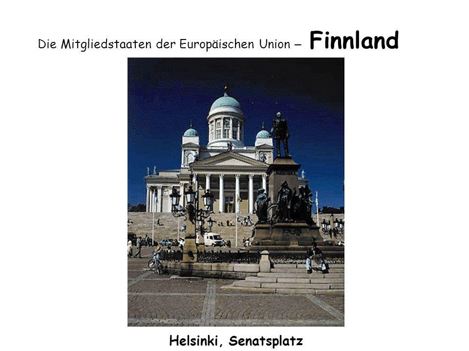 Die Mitgliedstaaten der Europäischen Union – Finnland Helsinki, Senatsplatz
