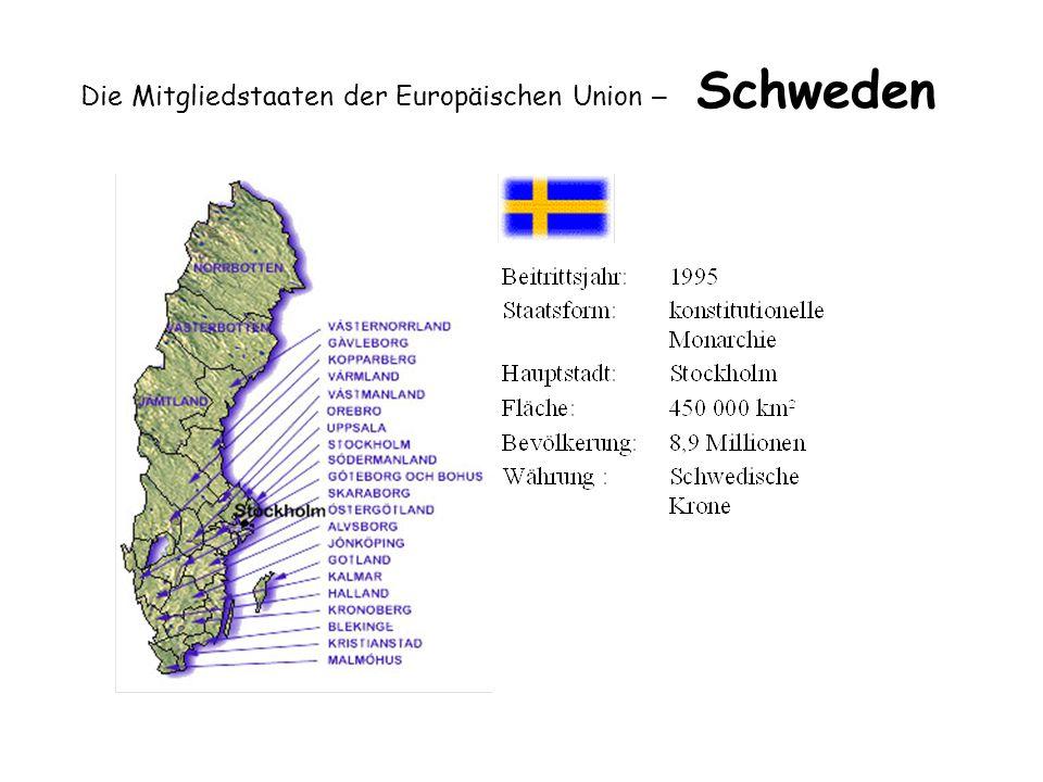 Die Mitgliedstaaten der Europäischen Union – Schweden