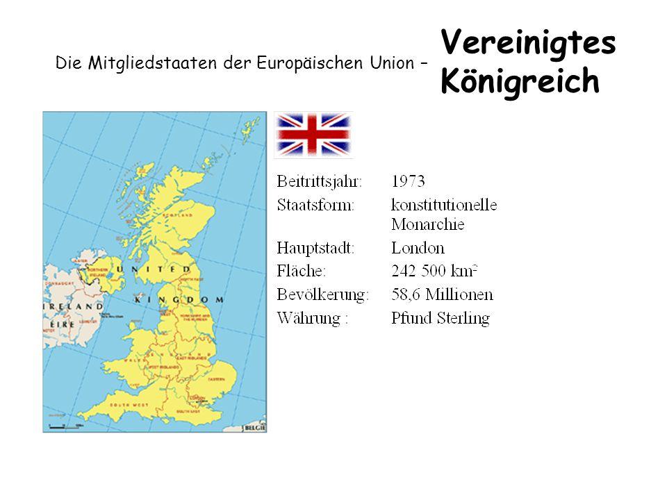 Die Mitgliedstaaten der Europäischen Union – Vereinigtes Königreich