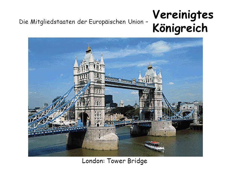 Die Mitgliedstaaten der Europäischen Union – Vereinigtes Königreich London: Tower Bridge