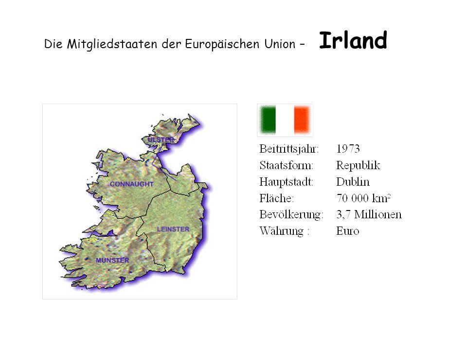 Die Mitgliedstaaten der Europäischen Union – Irland