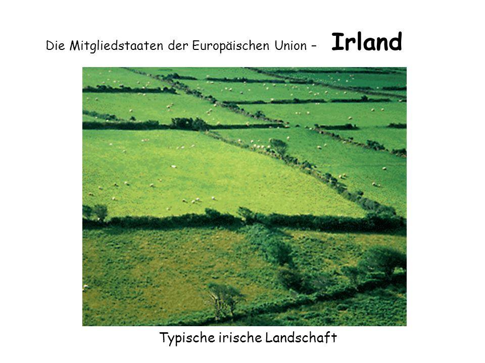 Die Mitgliedstaaten der Europäischen Union – Irland Typische irische Landschaft