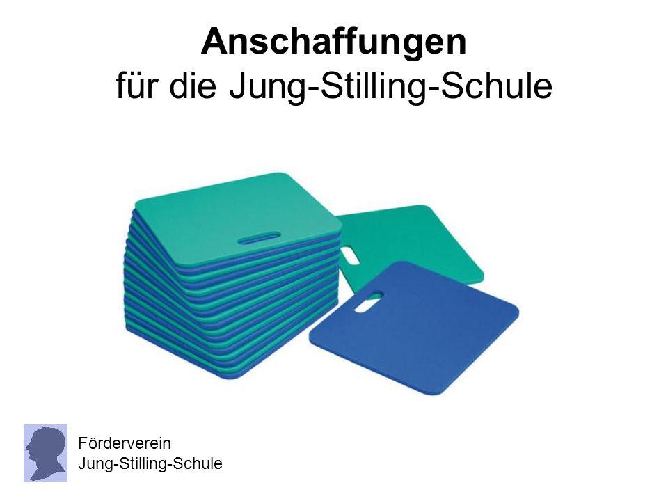 Anschaffungen für die Jung-Stilling-Schule Förderverein Jung-Stilling-Schule