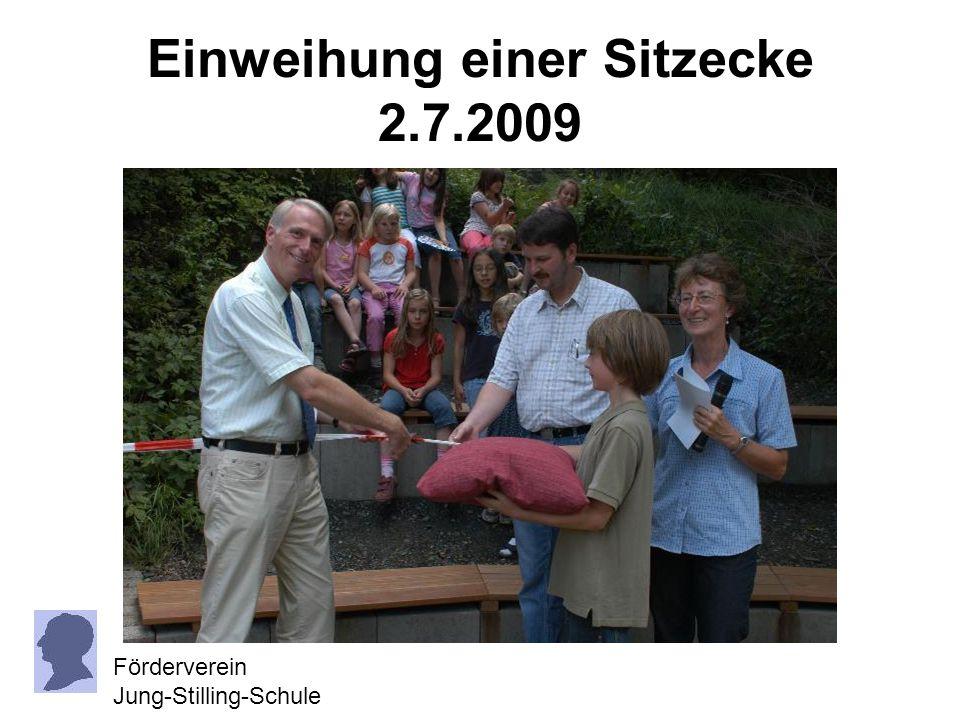 Unterstützung für die Schulhofgestaltung Förderverein Jung-Stilling-Schule