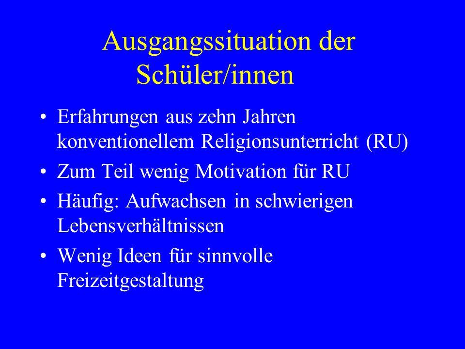 """Ausgangssituation der Schule Teilnahme der Schule an MODUS21 –Möglichkeit für """"anderen Religionsunterricht"""" –Besuch der Helene-Lange-Schule, Wiesbaden"""