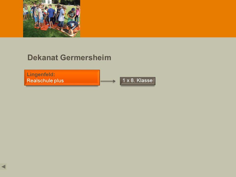 Dekanat Grünstadt Grünstadt: IGS und Realschule plus Grünstadt 3 x 8. Klasse