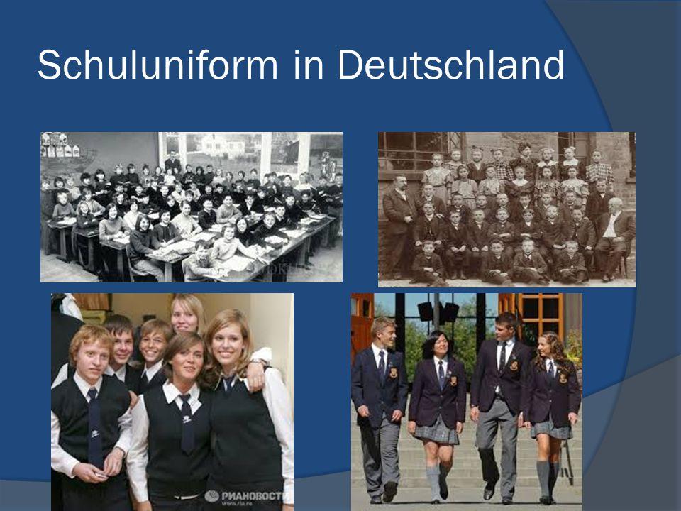 Schuluniform in Deutschland