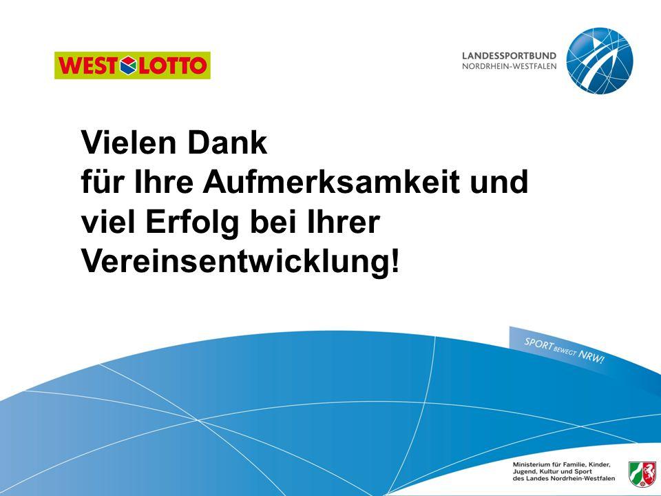 52 | Öffentlichkeitsarbeit im Sportverein, Duisburg 31.01.2013 Vielen Dank für Ihre Aufmerksamkeit und viel Erfolg bei Ihrer Vereinsentwicklung!