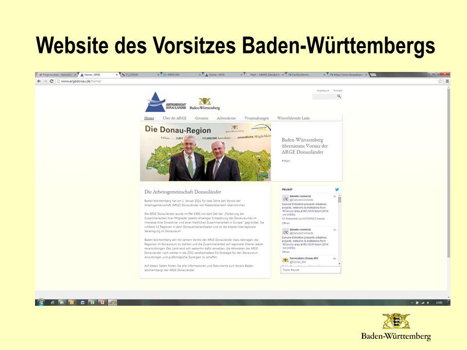 Website des Vorsitzes Baden-Württembergs