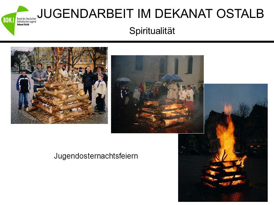 JUGENDARBEIT IM DEKANAT OSTALB Spiritualität Jugendosternachtsfeiern