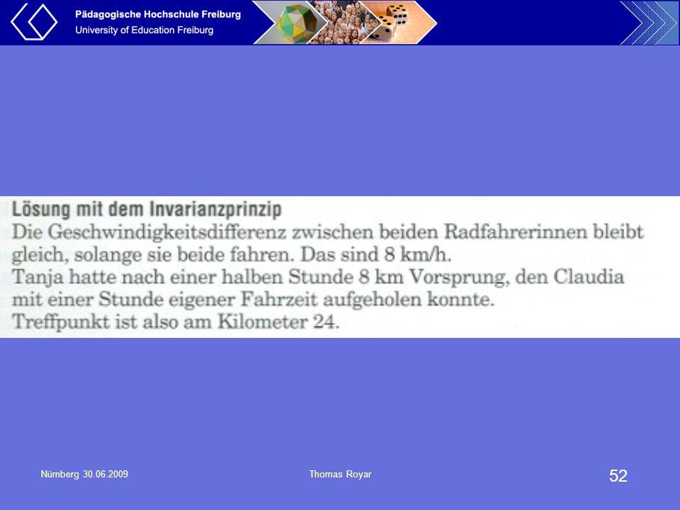 52 Nürnberg 30.06.2009Thomas Royar