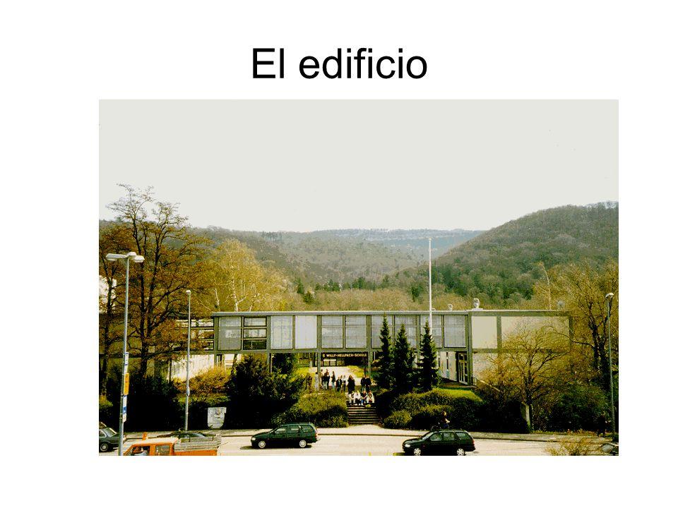 Wie sieht die Schule aus.Tarea 1: Elije las palabras adecuadas.