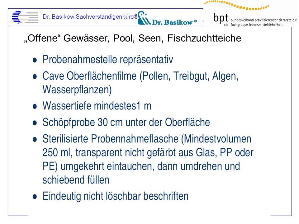 """""""Offene"""" Gewässer, Pool, Seen, Fischzuchtteiche"""