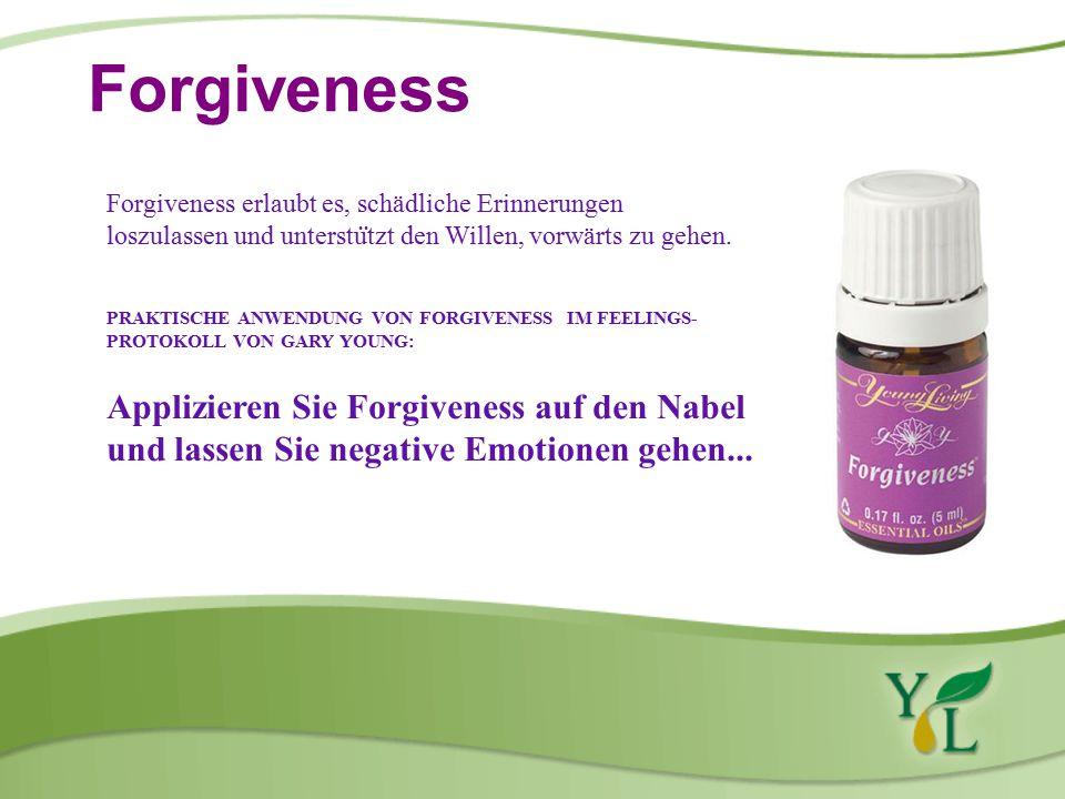 Forgiveness Forgiveness erlaubt es, schädliche Erinnerungen loszulassen und unterstu ̈ tzt den Willen, vorwärts zu gehen.