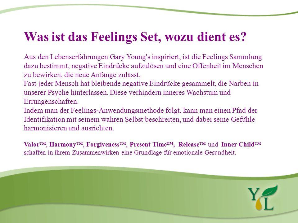 Was ist das Feelings Set, wozu dient es.