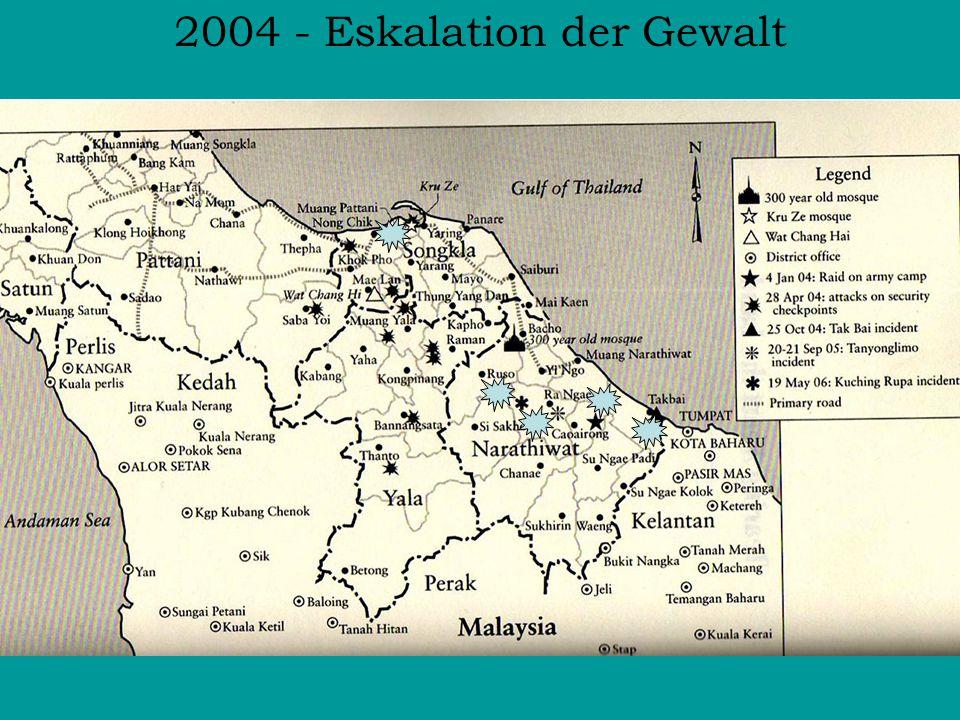 2004 - Eskalation der Gewalt