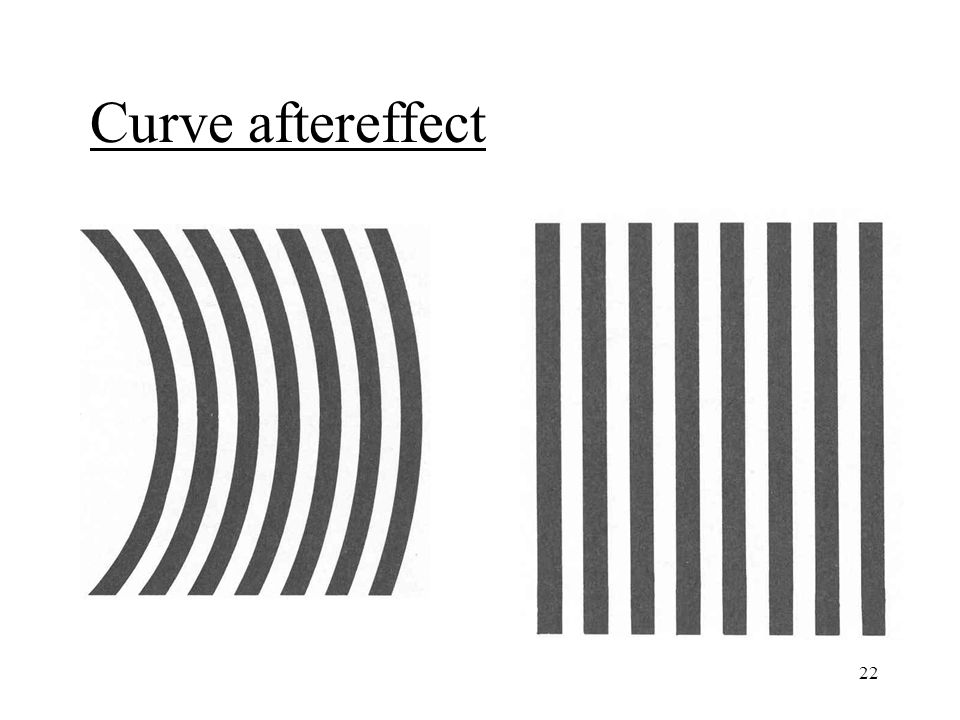 22 Curve aftereffect