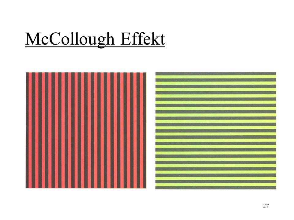 27 McCollough Effekt