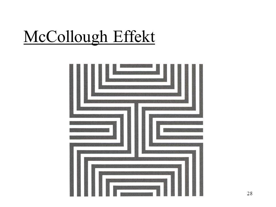 28 McCollough Effekt